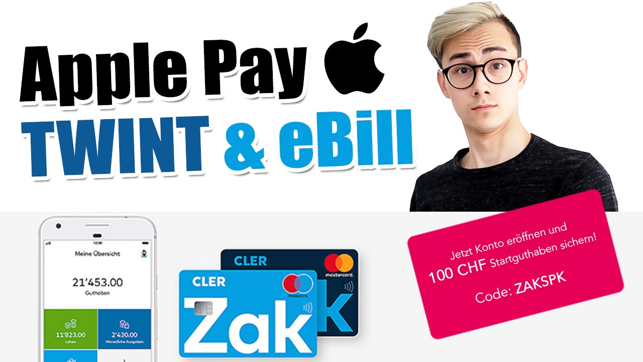Bank Cler Zak – Apple Pay, Ebill & vieles mehr – Interview